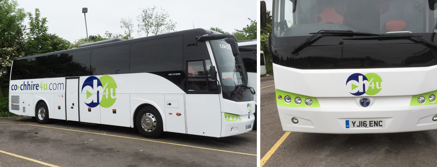 Coach Graphics in Bedfordshire