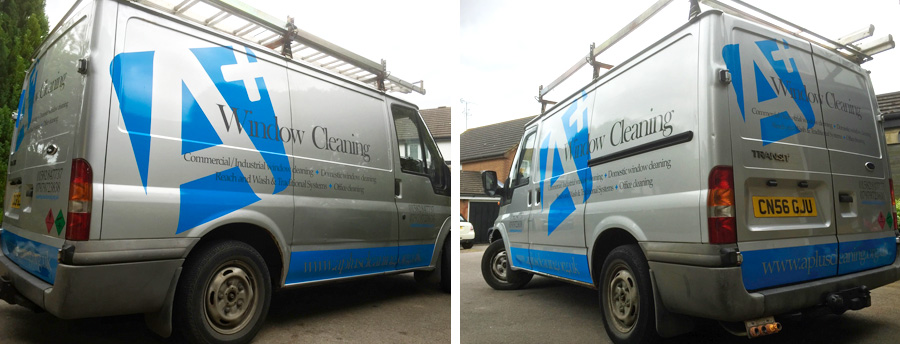 Van Graphics in Dunstable