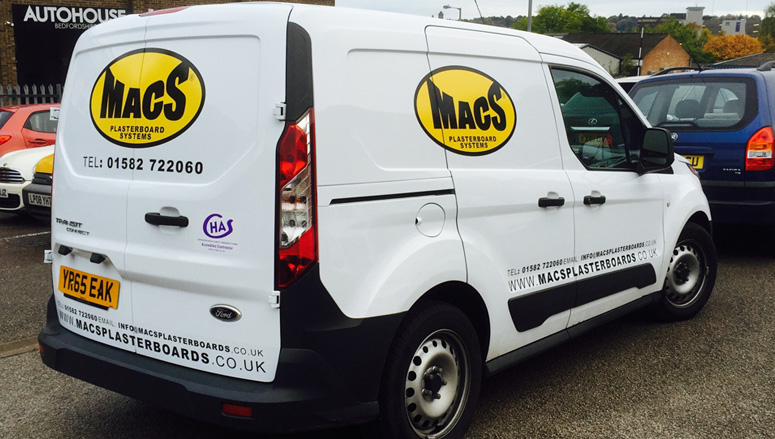 Vehicle graphics in Bedfordshire