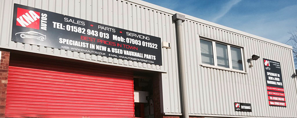 Building Signs In Luton, Bedfordshire