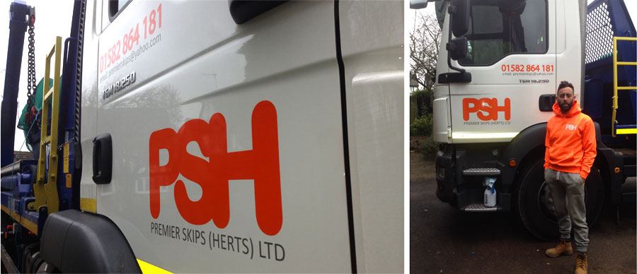 Lorry Graphics in Luton