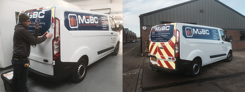 Vehicle Livery In Bedfordshire